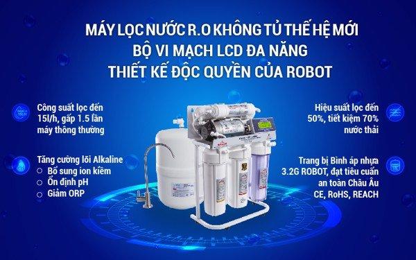 Máy Lọc Nước không tủ R.O ROBOT