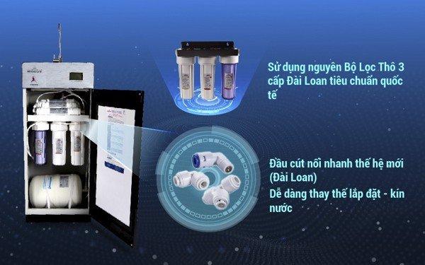 Máy lọc nước R.O Robot 9 cấp Lux 239W