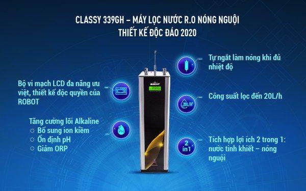 Máy lọc nước Classy 339GH NN