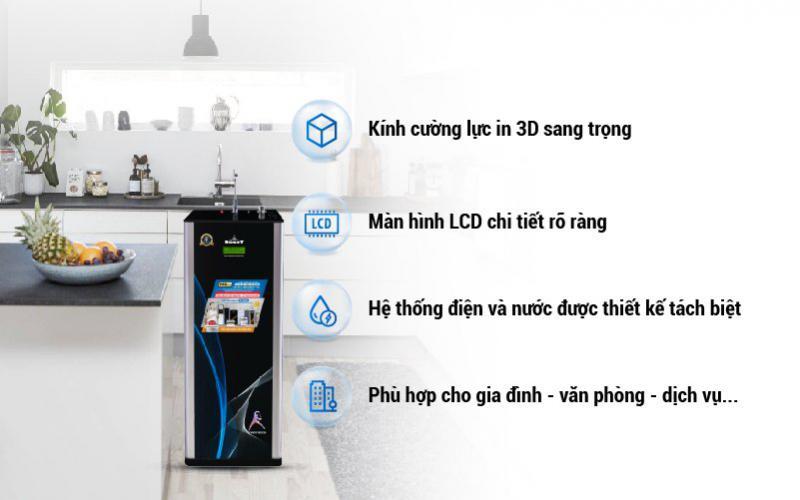 máy lọc nước nóng lạnh 739GK-UR