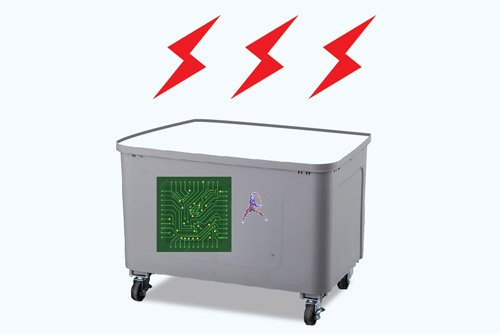 thùng Quạt điều hòa Robot 230W
