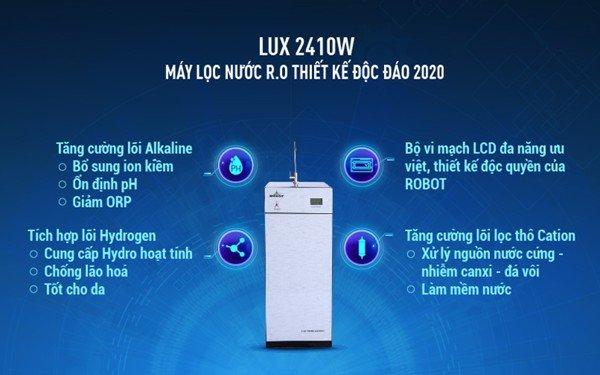 máy lọc nước R.O ROBOT LUX 2410W