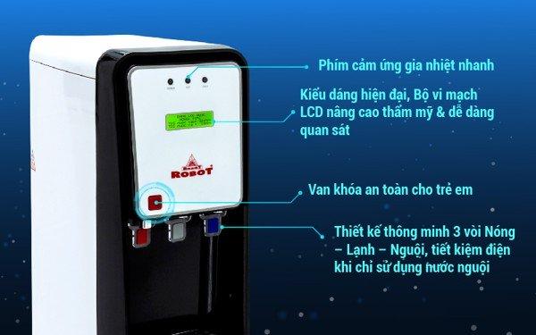 lọc nước nóng nguội lạnh robot