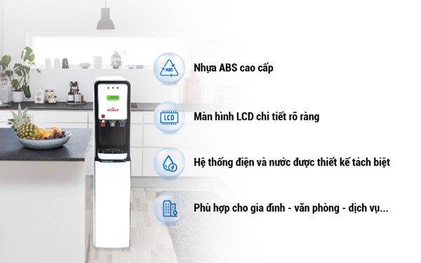 lọc nước nóng nguội lạnh robot 625 GTHC